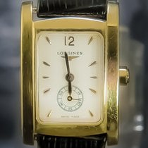 Longines DolceVita Yellow gold 20mm White Arabic numerals