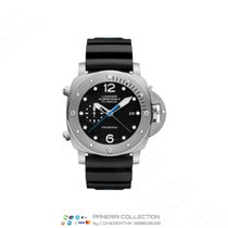 Panerai Luminor Submersible 1950 3 Days Automatic Titanium 47mm Black Arabic numerals