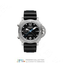 沛納海 Luminor Submersible 1950 3 Days Automatic 鈦 47mm 黑色 阿拉伯數字 香港, Tsim Sha Tsui