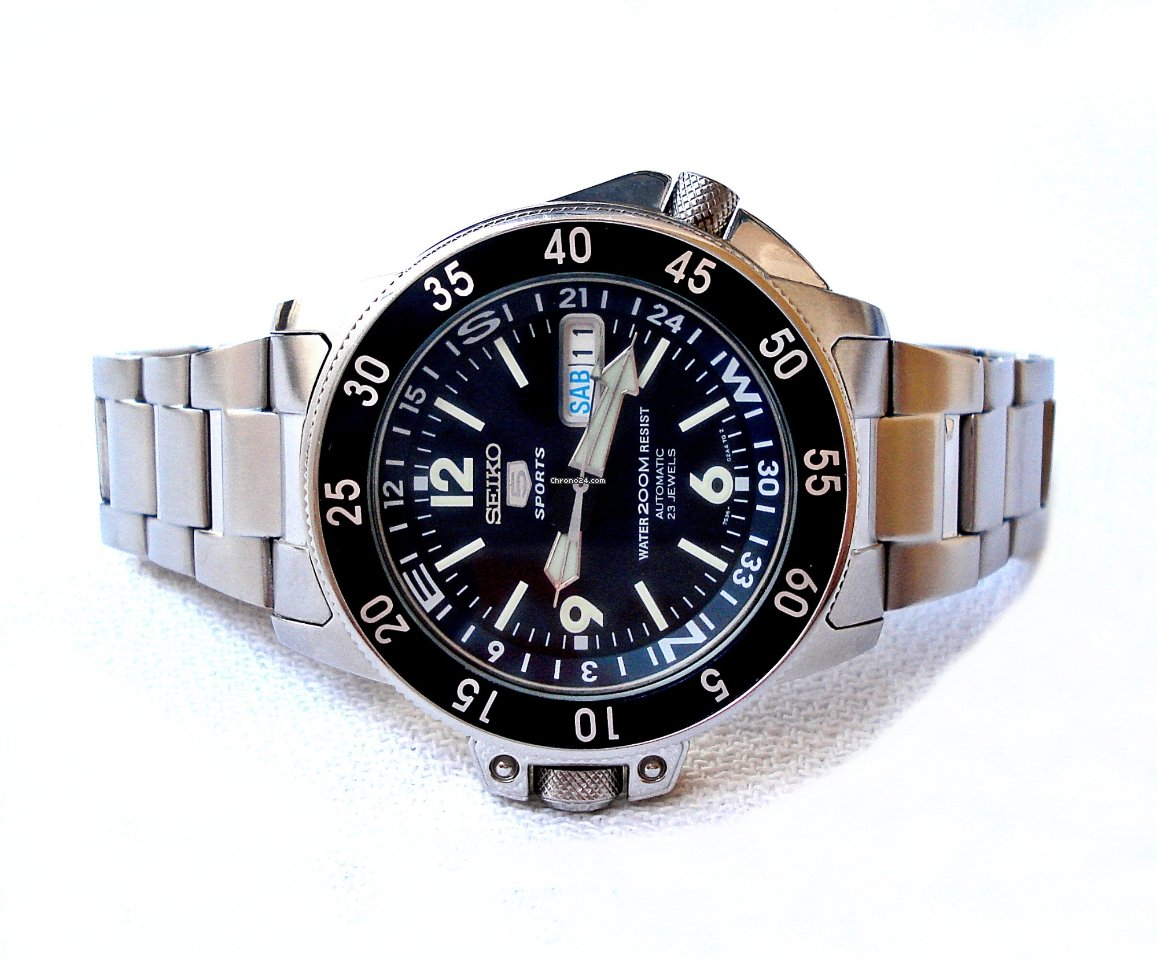 Seiko 5 Sports Automatic Diver 200Mt Ref 7S36 42mm For Php 26342 Sale From A Trusted Seller On Chrono24