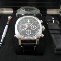 Panerai Chronograph 45mm Automatic 2009 pre-owned Ferrari Black