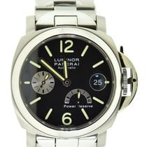 Panerai Luminor Power Reserve Steel 40mm Black United States of America, New York, New York
