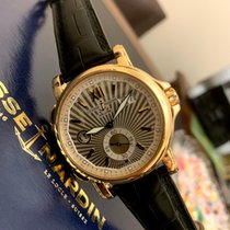 Ulysse Nardin Dual Time Rose gold 42mm Silver