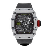 Richard Mille Carbon 49.94mm Manual winding RM035-01 new