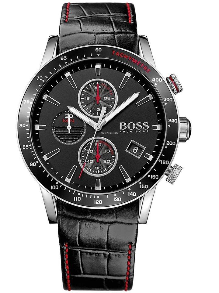 6bc947b85355 Hugo Boss 1513390 Rafale Chronograph Herren 44mm 5ATM en venta por 200 €  por parte de un Trusted Seller de Chrono24