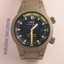IWC Aquatimer Automatic 2000 Titânio 42mm Preto