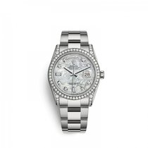 Rolex White gold Automatic Mother of pearl 36mm new Day-Date 36