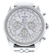 Breitling Bentley 6.75 pre-owned 49mm Silver Date Steel