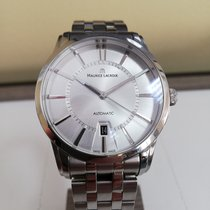 Maurice Lacroix Pontos Date Steel 40mm Silver No numerals