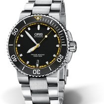 Oris Steel 43mm Automatic 01 733 7653 4127-07 8 26 01PEB new