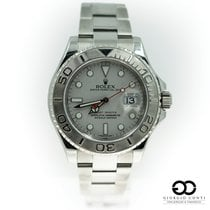 Rolex Yacht-Master 40 Steel 40mm Silver No numerals United States of America, Michigan, Southfield