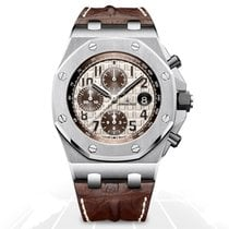 Audemars Piguet Royal Oak Offshore Chronograph Steel 42mm Champagne No numerals