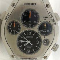 Seiko Sportura Seiko Kinetic Stopper Sportura Serviced & Warranty 2000 new