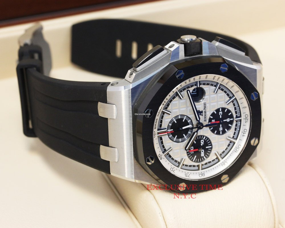 6a029c3be2d Audemars Piguet Royal Oak Offshore Stainless Steel 44mm... for Price on  request for sale from a Trusted Seller on Chrono24