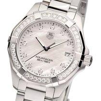 TAG Heuer Aquaracer Ladies Diamonds MOP Diamanten Damenuhr...