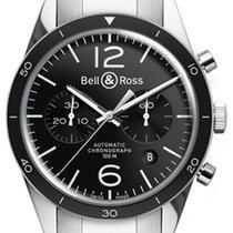 Bell & Ross BR V1 BRV126-BL-BE/SST new