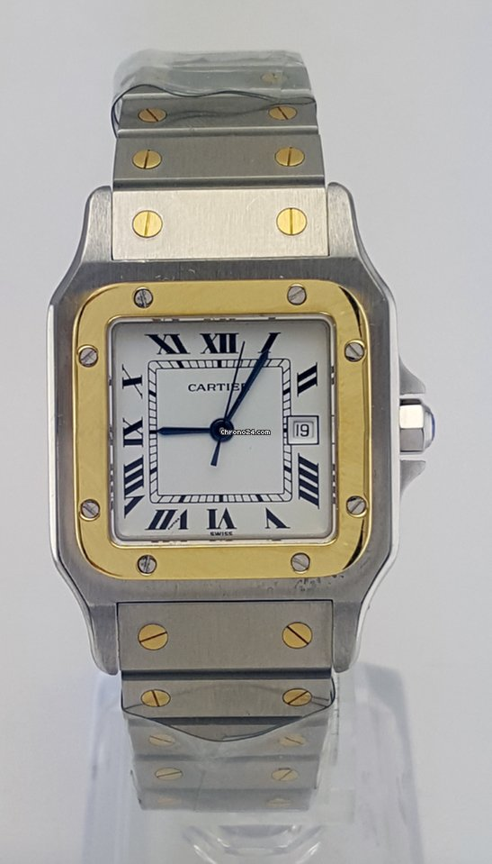 d9523e674bb8 Cartier Santos Galbee Two Tone 29mm REF 4812 for Price on request ...