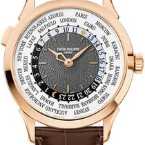 Patek Philippe World Time Rose gold Grey United States of America, New York, Brooklyn