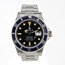 Rolex Submariner Date 16800 Tiffany 1983 pre-owned