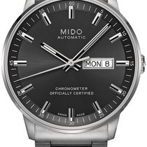 Mido Steel 40mm Automatic Commander new