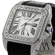Cartier Santos 100 51mm White United States of America, New York, New York