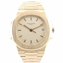 Patek Philippe Nautilus 3800 / 001 yellow gold with papers