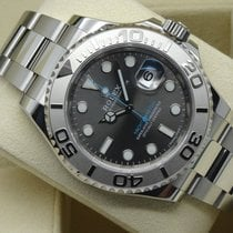 Rolex Oyster Yacht-Master Steel Rhodium Dial 40 mm (Full Set...