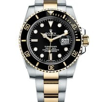 Rolex SUBMARINER DATE 40MM STEEL AND YELLOW GOLD 116613LN