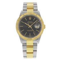 Rolex Datejust Turn-O-Graph 16263 18K YGold & Steel  Men's  Watch