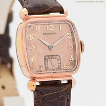Hamilton Rose gold 29mm Manual winding pre-owned
