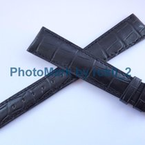 Patek Philippe Genuine  Alligator Matt Black Strap Band 20mm X...