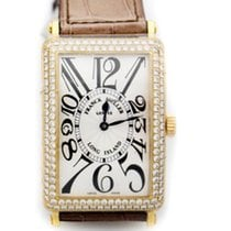 Franck Muller Long Island Yellow gold 30mm White Arabic numerals