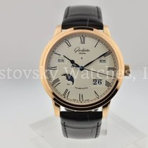 Glashütte Original Senator Perpetual Calendar Rose gold 42mm Silver Roman numerals United States of America, California, Beverly Hills