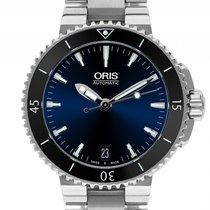 Oris Aquis Date Stahl Automatik Armband Stahl 36mm Ref.01 733...
