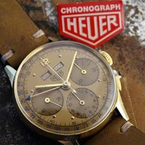 Heuer triple date chronograph