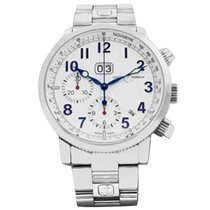 Ulysse Nardin Marine Chronograph Steel 40mm White United States of America, Florida, Boca Raton