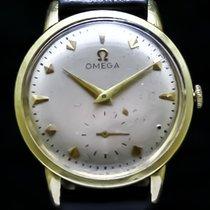 Omega Geelgoud Handopwind Wit Geen cijfers 39mm tweedehands