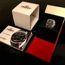 Tissot Racing-Touch Acero 43mm Negro Sin cifras