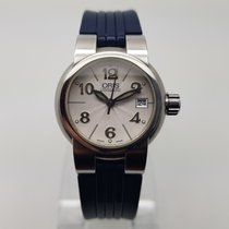 Oris 25mm Automatic pre-owned TT1 Silver