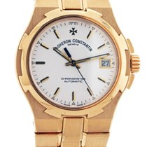 Vacheron Constantin Overseas Chronometer Mens 18KT Yellow Gold...
