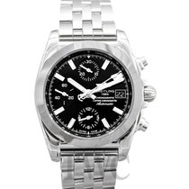 Breitling Tungsten Automatic Black 38.00mm new Chronomat 38