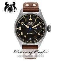 IWC Big Pilot Acero 46.2mm Negro