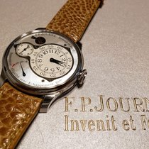F.P.Journe 40mm Manual winding 2018 pre-owned Mother of pearl