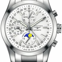 Longines Conquest Classic Steel 42mm Silver United States of America, California, Moorpark