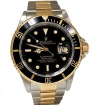 Rolex Submariner Date 16613 Good Gold/Steel 40mm Automatic