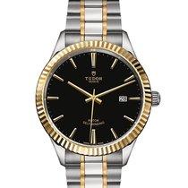 Tudor Style Gold/Steel 41mm Black