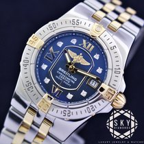 Breitling Starliner Gold/Steel 30mm Mother of pearl No numerals United States of America, New York, NEW YORK