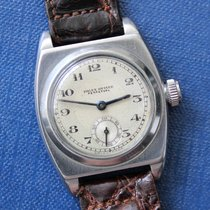 Rolex Stříbro Ruční natahování Stříbrná Arabské 29mm použité