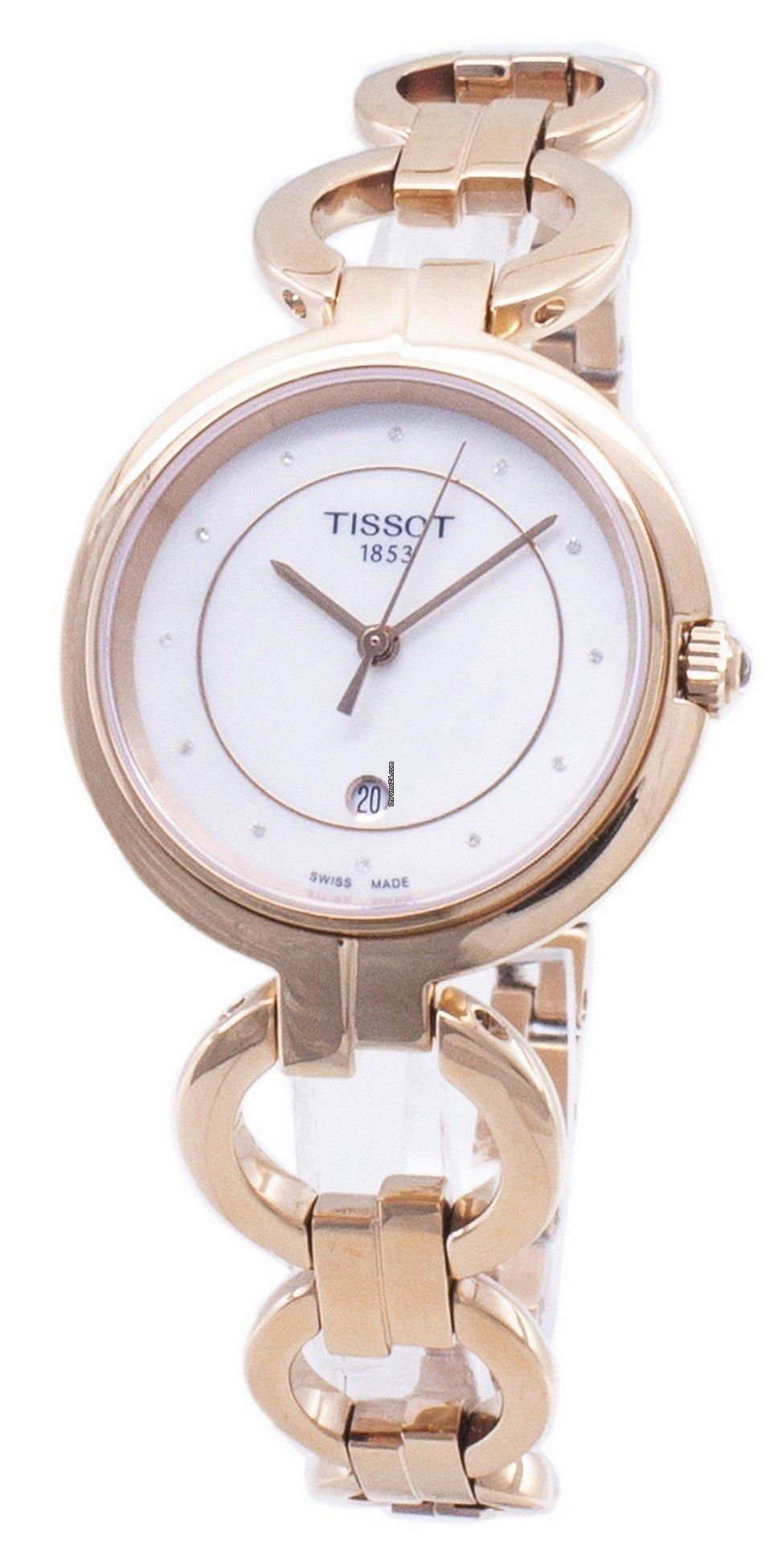 55a43639aab Tissot T-Lady Flamingo T094.210.33.116.01 T0942103311601... voor 315 € te  koop van een Seller op Chrono24