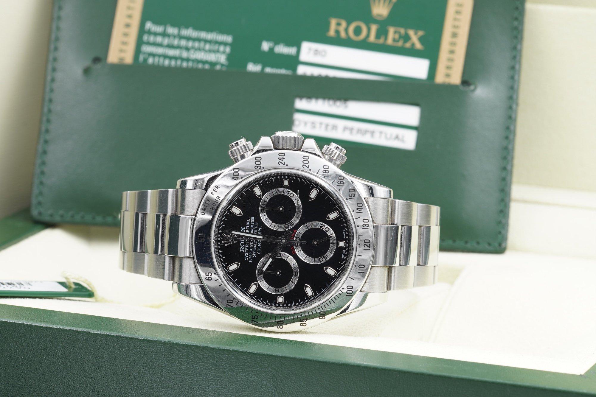 best service 38af7 1e005 Rolex Daytona 116520 V Serial Like New Full Set for Rp ...